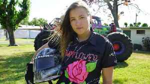 America's Youngest Pro Female Monster Truck Driver | RIDICULOUS RIDES [Video]