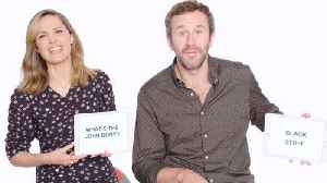 Rose Byrne and Chris O'Dowd Teach Australian and Irish Slang [Video]