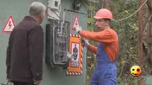 The Funny Electrician Electrocution Ever Seen [Video]