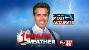 Florida's Most Accurate Forecast with Denis Phillips on Friday, August 17, 2018 [Video]