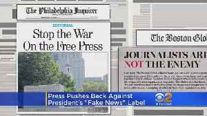 350 Newspapers Band Together To Send Message To Trump: 'We Are Not The Enemy' [Video]
