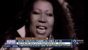 Baltimore reacts to passing of music icon, Aretha Franklin [Video]