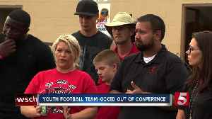 Youth Football League Kicked Out Of Regional Conference [Video]