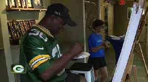 LeRoy Butler helps grant wish through Windows for a Cause [Video]