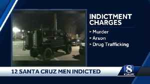 12 suspected Santa Cruz gang members indicted on federal charges [Video]