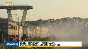 Benettons Confront Italy's Populists Over Bridge Disaster [Video]