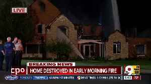 Lightning strike causes massive house fire in NKY [Video]