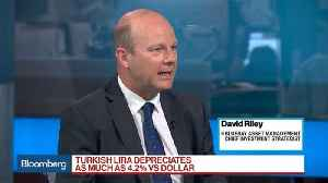 Turkish Lira Has Effectively Become Untradeable, Bluebay's Riley Says [Video]