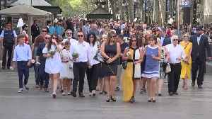 Barcelona marks anniversary of terror attack [Video]