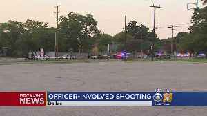 Dallas Police Shooting Leaves Officer Injured & 1 Suspect Dead [Video]