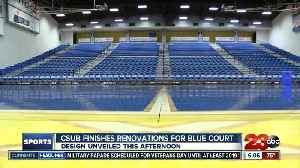 CSUB unveiling new basketball court [Video]