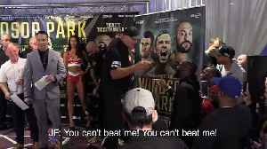 Deontay Wilder gatecrashes Tyson Fury weigh-in [Video]