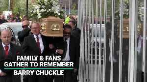 Family & Fans Gather To Remember Barry Chuckle [Video]