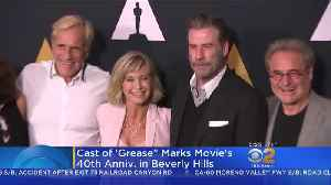 Cast Of 'Grease' Reunites For 40th Anniversary [Video]