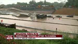I-43 shut-down twice due to flooding, has reopened [Video]