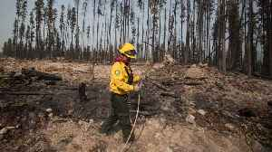Mexican firefighters help battle Shovel Lake wildfire in B.C. [Video]