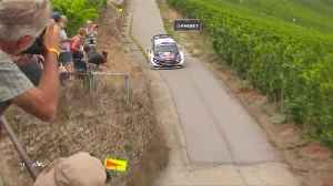 Tanak dominates on day 1 of Rally Germany [Video]