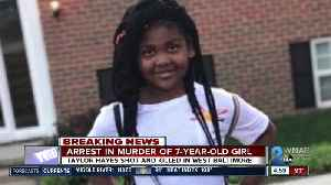 Police announce arrest in 7-year-old Taylor Hayes killing [Video]