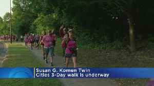 Hundreds Join Susan G. Komen Walk [Video]