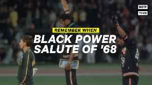 Remember When: Athletes Protested '68 Olympics with Black Power Salute [Video]