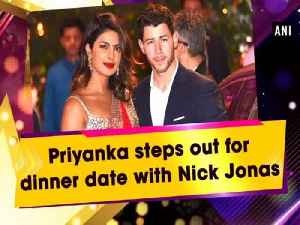 Priyanka steps out for dinner date with Nick Jonas [Video]