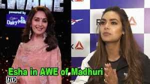 Esha Gupta in AWE of Madhuri Dixit | Total Dhamaal [Video]