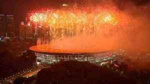 Indonesia formally open the 18th Asian Games at main stadium of Gelora Bung Karno