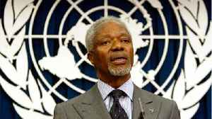 Ghana Mourns Death of Annan, 'One of Our Greatest Compatriots' [Video]