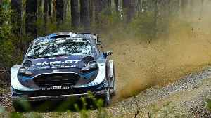 Tanak Cruises In WRC Rally Germany [Video]