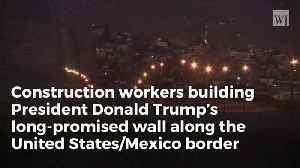 Trump's Border Wall Over Halfway Complete in New Mexico [Video]