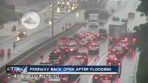 Flooding causes traffic nightmare on I-43 near Good Hope Road [Video]