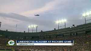 Green Bay Police investigating Lambeau flyover [Video]