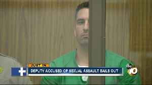 Deputy accused of sexual assault bails out [Video]