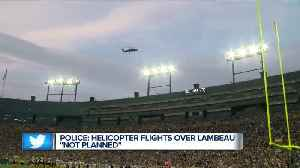 "Green Bay Police investigating ""not planned"" Lambeau flyover [Video]"