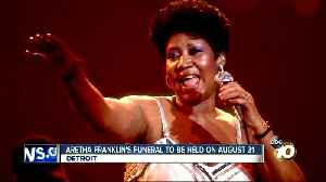 Aretha Franklin's funeral to be held on August 31, Detroit [Video]