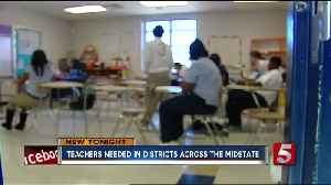 Teachers Needed In School Districts Across Mid-State [Video]
