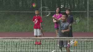 Young Tennis Hopefully Put Science Into Their Game [Video]