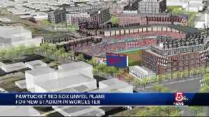 Red Sox unveil plans for PawSox stadium in Worcester [Video]