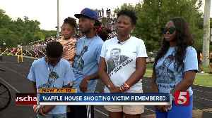 Waffle House Shooting Victims Honored at Former High School [Video]