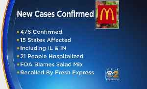 More Than 470 People Ill From McDonald's Salad Parasite Outbreak [Video]