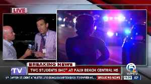 Two shot at Palm Beach Central High School [Video]