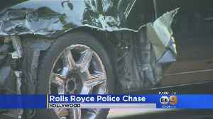Rolls-Royce Mangled After It Crashes During Brief Police Pursuit [Video]