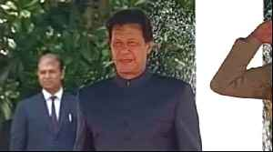 News video: Imran Khan sworn in as Pakistan's prime minister