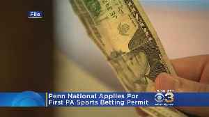 Penn National Gaming Applies For First Pa. Sports Betting Permit [Video]