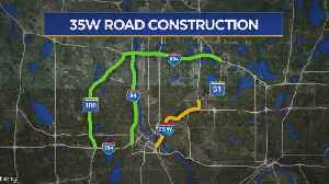 Surprise! Part Of 35W Closed Again In Twin Cities [Video]