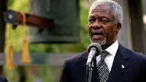 World pays tribute to former UN chief Kofi Annan who has died at the age of 80 [Video]