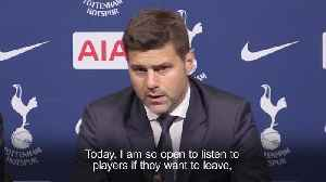 Pochettino: Spurs back-ups can leave or wait until I am sacked [Video]