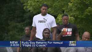 Baltimore Native Rudy Gay Returning Home To Host Basketball Tournament [Video]