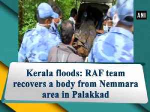 Kerala floods: RAF team recovers a body from Nemmara area in Palakkad [Video]