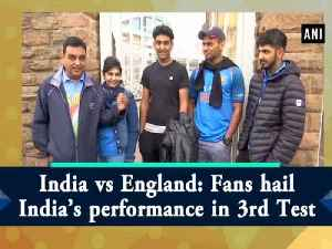 India vs England: Fans hail India's performance in 3rd Test [Video]